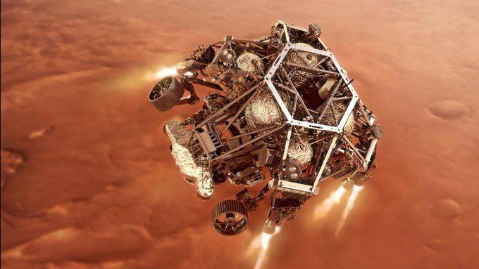 El rover Perseverance de la NASA aterrizará en Marte este jueves 0