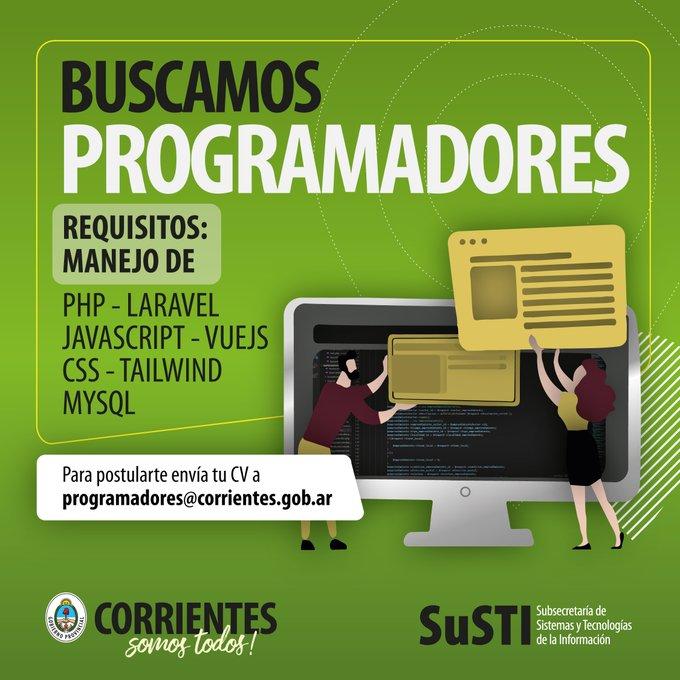 Importante oferta laboral en Corrientes 0